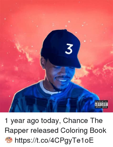 coloring book chance the rapper release 25 best memes about chance the rapper chance the rapper