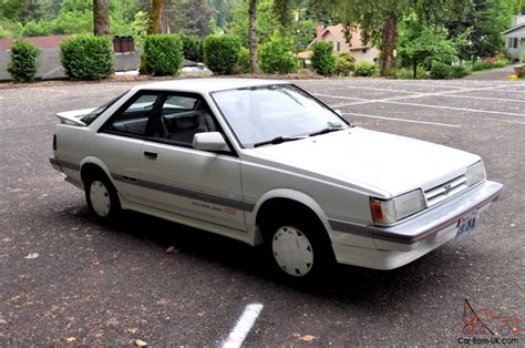 service manual how to break down 1989 subaru leone 1989 subaru loyale leone ea82 service
