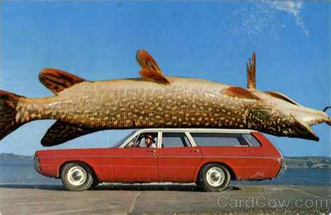 Fisch Auf Auto by Pike S Opening Day Le Mouching