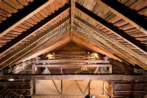 roof design of the dalziel barn barn with gambrel roof