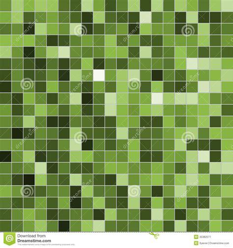 5 X 9 Bathroom Floor Plans by Green Mosaic Stock Illustration Illustration Of