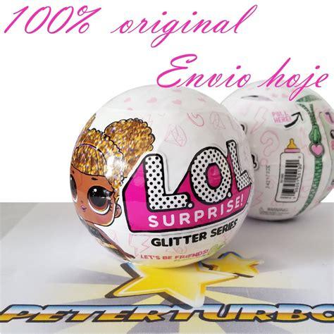 Lol Glitter Series boneca lol glitter series 100 original mga rara