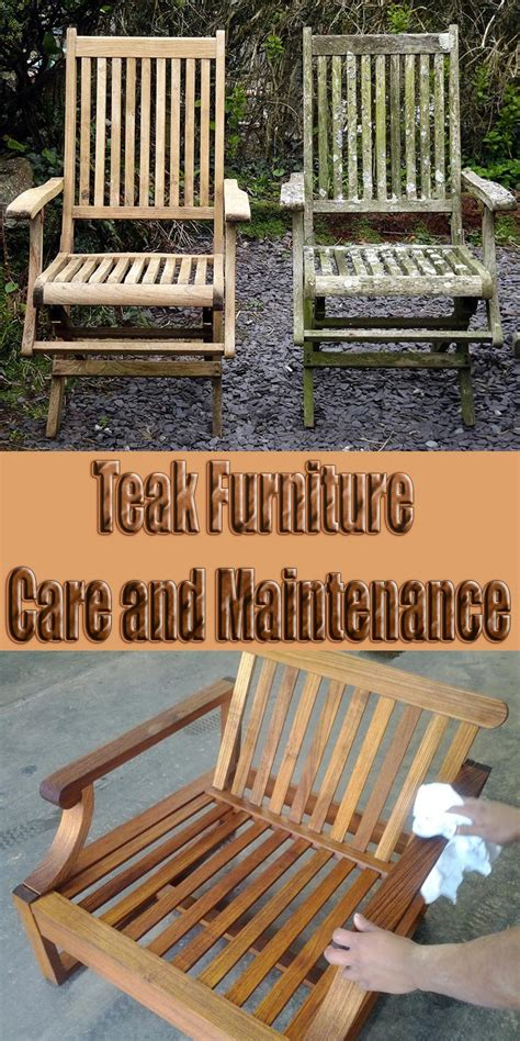 teak furniture care and maintenance corner