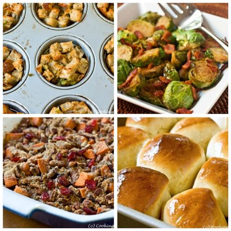 thanksgiving side dishes side dish recipes for thanksgiving with pictures images