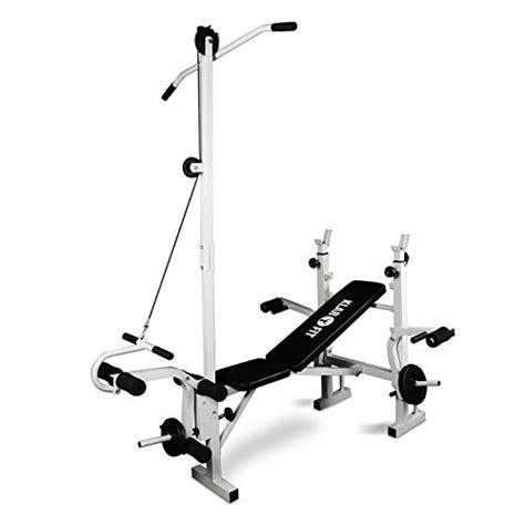 Exercice Sur Banc De Musculation by Achat Klarfit Banc De Musculation Complet Appareil Muscu