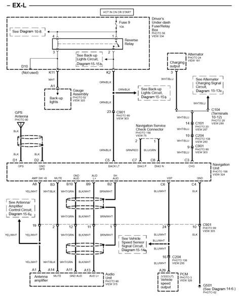 2005 honda pilot car alarm wiring diagrams 42 wiring
