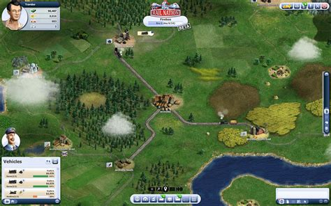 Free browser based online strategy game   Rail Nation