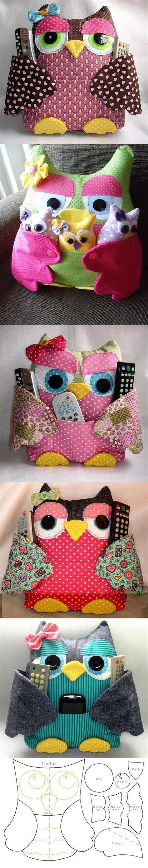 diy owl crafts diy owl pad with pockets handmade dolls posts diy and crafts and owl