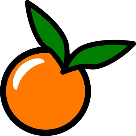 orange clipart orange free stock photo illustration of an orange
