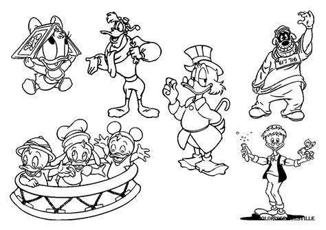 ducktales coloring pages disney coloring pages