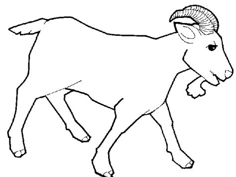 goat template printable template for the goat search results calendar 2015