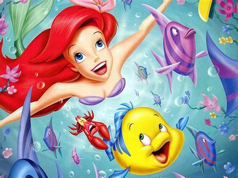 little mermaid disney cartoon fishes hd wallpaper kolorowanki mała syrenka ariel disney malowanki do wydruku