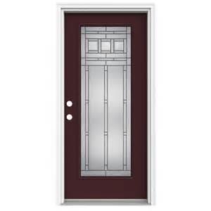 lowes front doors shop reliabilt lite decorative currant prehung