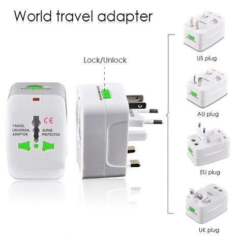 Universal Travel Adapter Colokan Listrik Multi Internasional universal travel adaptor colokan steker listrik multi international elevenia