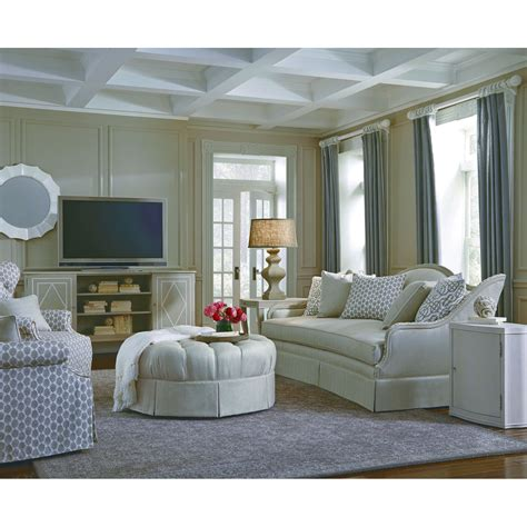 tufted ottoman with skirt a r t furniture grey tufted top ottoman with