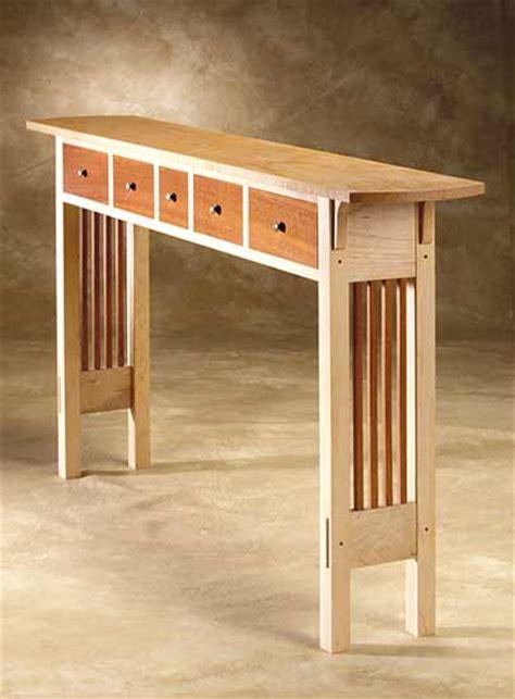 Wooden Hallway Table Prairie Sofa Table By Chris Horney Wood Sofa Table Artful Home