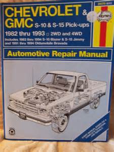 haynes repair manual chevrolet gmc pick up 1988 93