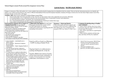 best photos of professional development plan template