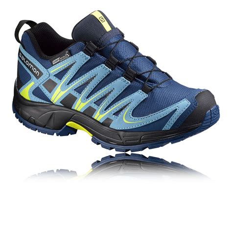 salomon xa pro 3d trail junior cushioned running sports
