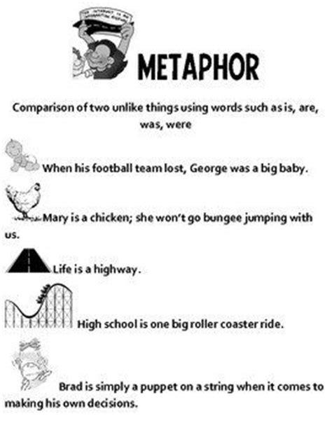 sle of metaphor metaphor poem search grade 5 la