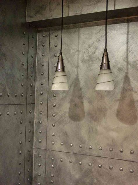 metal wall covering decor ideas