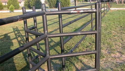 ls made from pvc pipe angell s custom welding llc custom metal pipe fence in