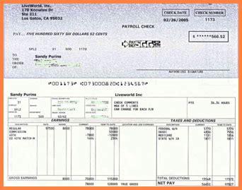 Check Maker Template 9 Check Stubs Maker Bank Statement