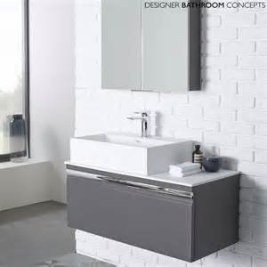 designer vanity units for bathroom the pursuit designer charcoal elm 900mm bathroom vanity