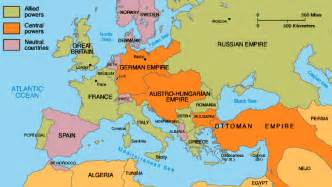 Map Of Europe In Ww1 by Europe 1914 Map Capitals Before The War 1914
