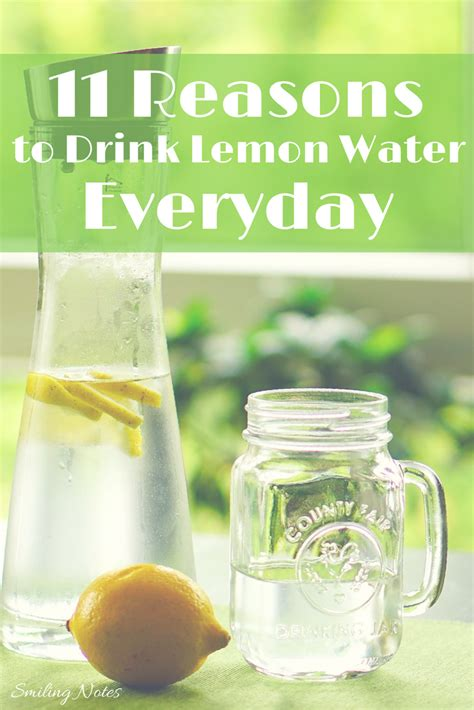 Can You Drink Detox Water Everyday by 11 Reasons To Drink Lemon Water Everyday
