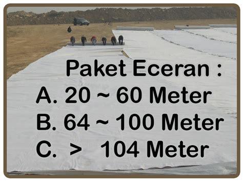 Jual Karung Goni Eceran spesialis juall geotextile geomembrane geogrid di