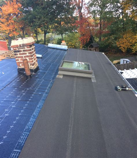 modified bitumen   flat roof  north andover duval