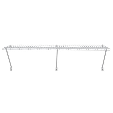 Closetmaid White Wire Shelving by Closetmaid Selectives 14 In White Metal Shelf Support Kit