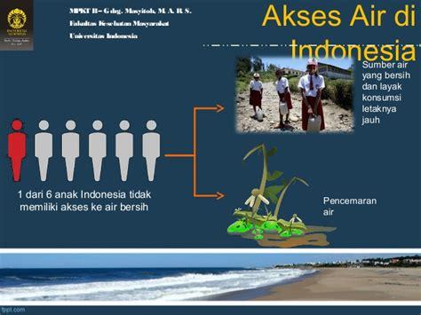Air Di Indonesia defisit air bersih dan layak konsumsi di indonesia