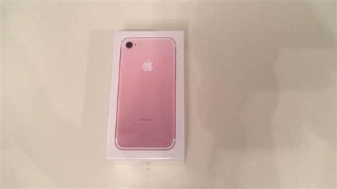 imagenes iphone 8 rosado iphone 7 rosa unboxing youtube