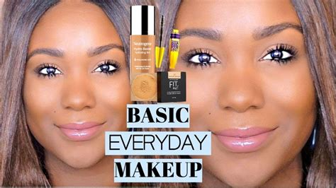 natural makeup tutorial for oily skin oily skin natural soft glam makeup tutorial black women