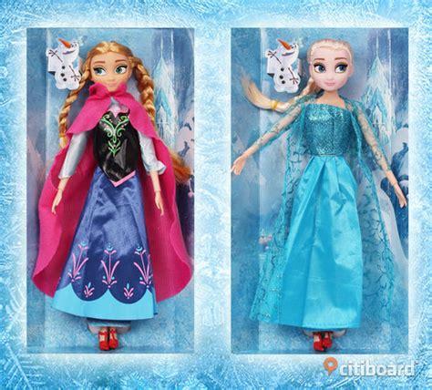 film elsa och anna frozen frost dockor helt nya elsa och anna ca 30cm