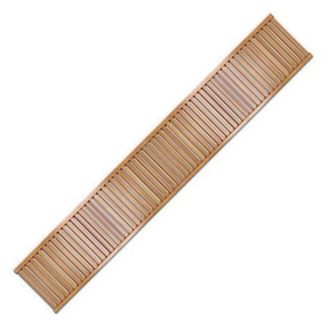 Ventilated Closet Shelving 16 Inch Wood Closet Shelves Honey Maple Set Of 2 In