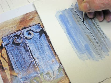 watercolor wood tutorial watercolour tutorial quot shutters quot