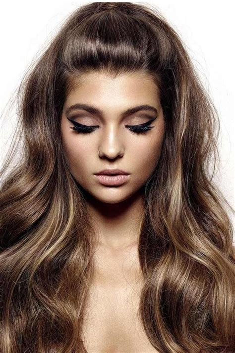 hairstyles for rectangle 15 best ideas of long hairstyles rectangular face shape