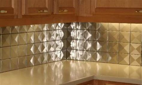 10sf 4 quot x4 quot 3d stainless steel metal backsplash wall