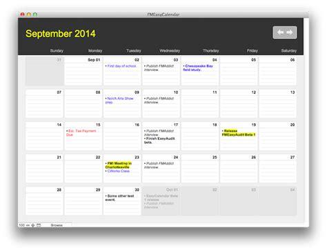 filemaker calendar template filemaker pro calendar template free choice image