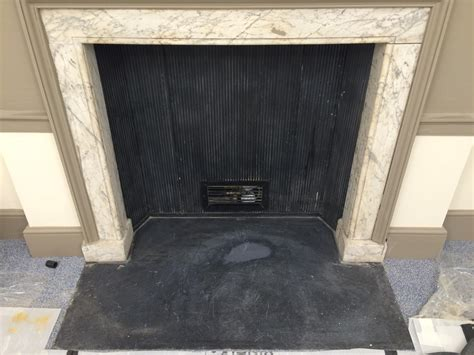 Limestone Fireplace Repair by Bespoke Repairs Ltd Uk Glass Repair