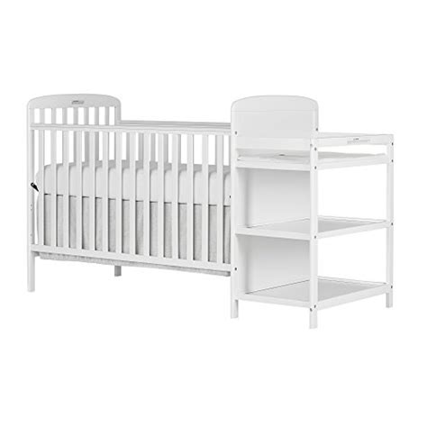 White Crib And Changing Table Combo On Me 4 In 1 Size Crib And Changing By Deals