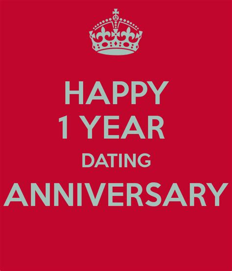 happy 1 year dating anniversary poster amanda keep