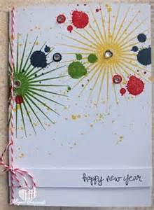 handmade new year greeting cards 2016 i pink
