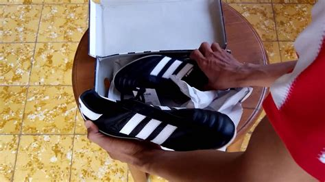 Jenis Dan Sepatu Bola Adidas sepatu bola adidas kaiser 5 liga black white 033201 unboxing