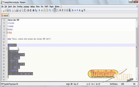 tutorial video php curs video php nr 7 tutoriale video