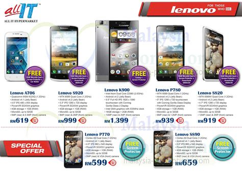 all mobile phones price list lenovo smartphones offers price list all it hypermarket