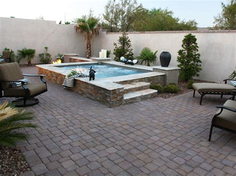 stone backyard patio photos hgtv